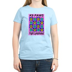 Fight Lymphoma Women's Pink T-Shirt