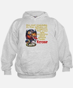 Don't mess with Dragons Hoodie