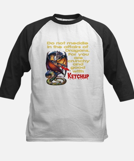 Don't mess with Dragons Kids Baseball Jersey