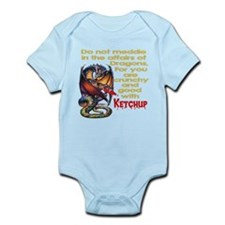 Don't mess with Dragons Infant Bodysuit
