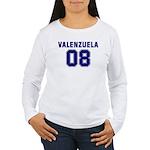 Valenzuela 08 Women's Long Sleeve T-Shirt
