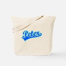 Retro Peter (Blue) Tote Bag