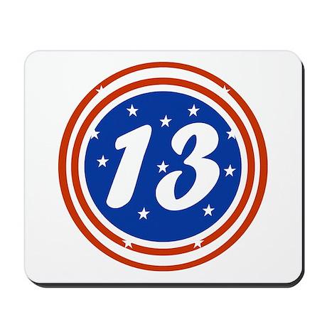 13th Birthday Mousepad