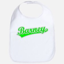Retro Barney (Green) Bib