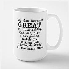 My Job Resume Mug