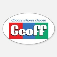 Geoff's Oval Decal