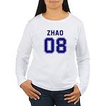 ZHAO 08 Women's Long Sleeve T-Shirt