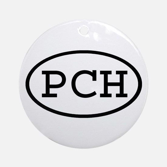 PCH Oval Ornament (Round)
