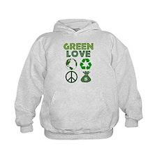 Green Love - Money 1 Hoodie