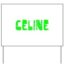 Celine Faded (Green) Yard Sign
