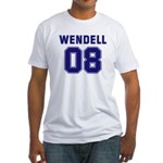 WENDELL 08 Fitted T-Shirt
