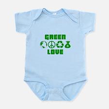 Green Love - Money 2 Infant Bodysuit