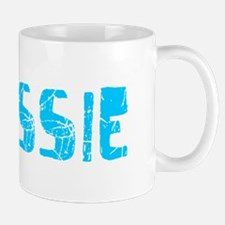 Chrissie Faded (Blue) Mug