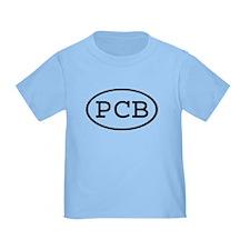 PCB Oval T