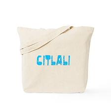 Citlali Faded (Blue) Tote Bag