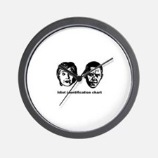 Cute Anti barack obama Wall Clock