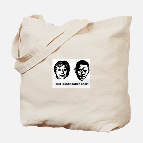 Cute Anti obama Tote Bag