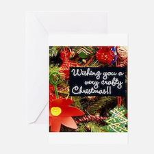 A Very Crafty Christmas Greeting Card