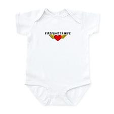Firefighter Wife Infant Bodysuit