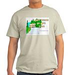 Don't Tailgate or We'll Flush Ash Grey T-Shirt