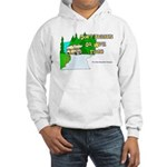 Don't Tailgate or We'll Flush Hooded Sweatshirt