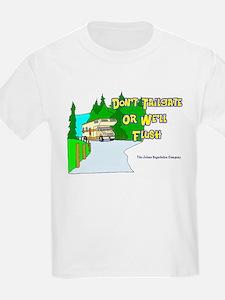 Don't Tailgate or We'll Flush Kids T-Shirt