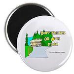 Don't Tailgate or We'll Flush Magnet