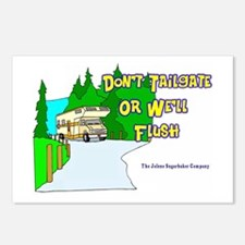 Don't Tailgate or We'll Flush Postcards (Package o