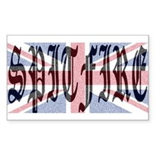 Spitfire 1 Rectangle Decal
