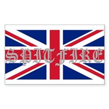 Spitfire 2 Rectangle Decal