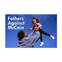 Fathers Against McCain Poster Print