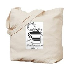 Weatherization Works Tote Bag