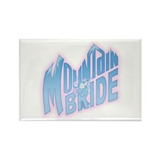 Mountain Bride Rectangle Magnet