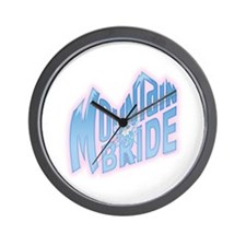 Mountain Bride Wall Clock