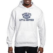 World's Coolest Little Brothe Jumper Hoodie