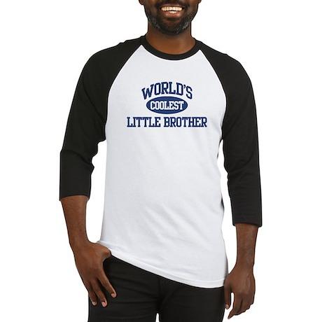 World's Coolest Little Brothe Baseball Jersey