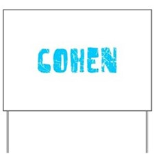 Cohen Faded (Blue) Yard Sign