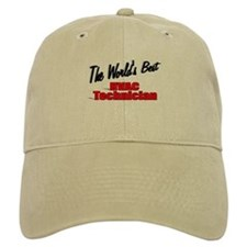 """The World's Best HVAC Technician"" Baseball Cap"