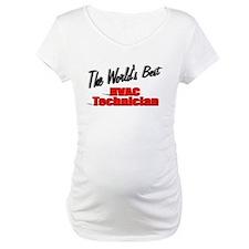 """""""The World's Best HVAC Technician"""" Shirt"""