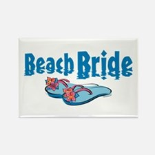 Beach Bride 2 Rectangle Magnet