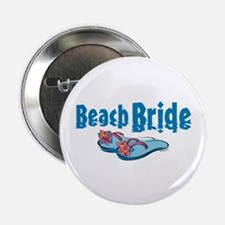 "Beach Bride 2 2.25"" Button"
