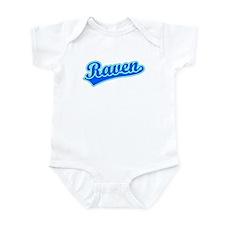 Retro Raven (Blue) Infant Bodysuit