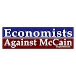 Economists Against McCain car decal
