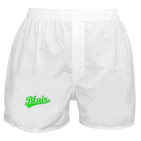 Retro Blair (Green) Boxer Shorts