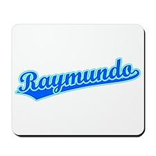 Retro Raymundo (Blue) Mousepad