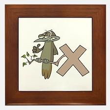 X Is For Xenops Framed Tile