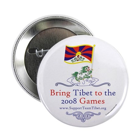 "Team Tibet 2.25"" Button"