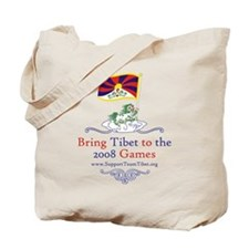 Team Tibet Tote Bag