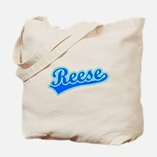 Retro Reese (Blue) Tote Bag