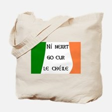 There is no strength without unity Tote Bag
